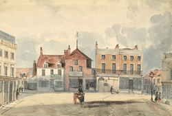 Broadway, Deptford, 1841